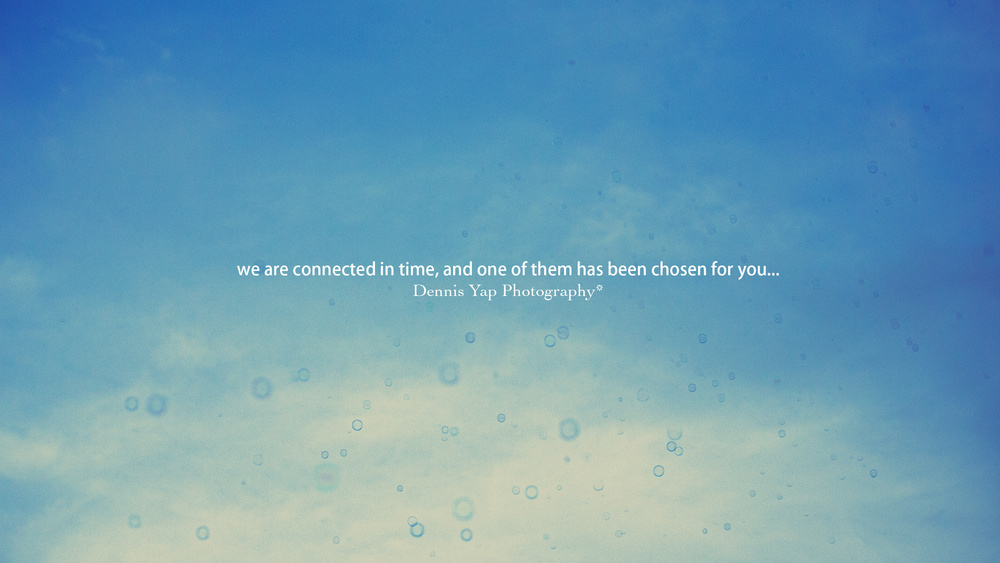 We are all connected...