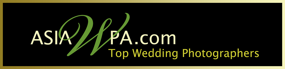 Asia Top Wedding Photographer by Asia Wedding Photographer Association