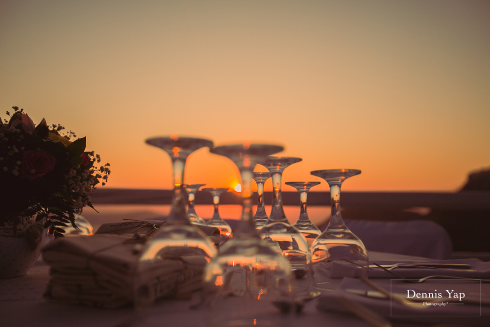 johnny iris wedding ceremony reception in santorini galini hotel sunset close small wedding by dennis yap photography malaysia asia top 30-21.jpg