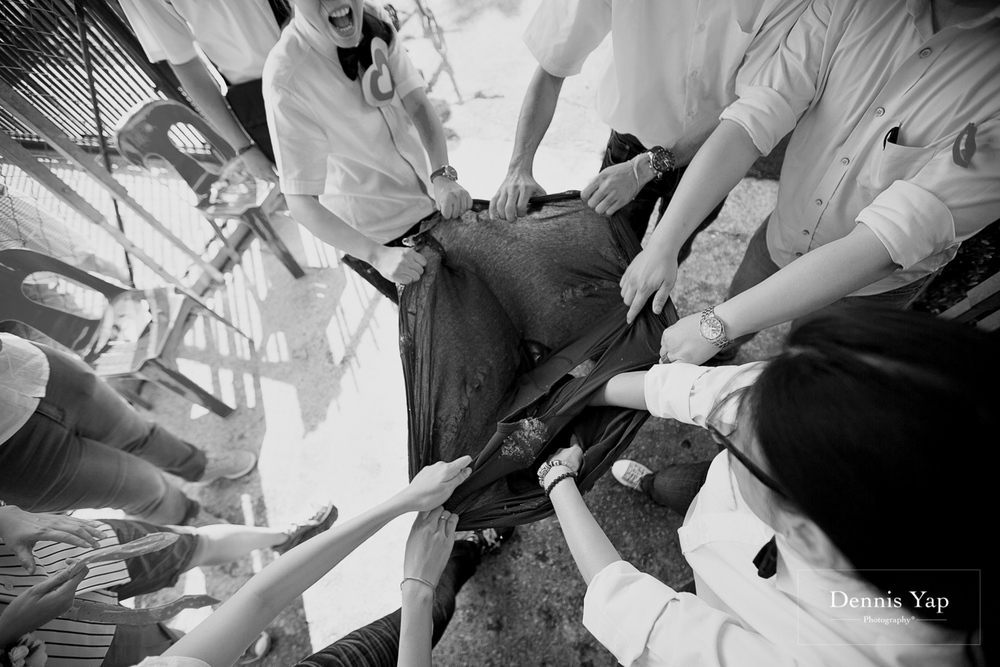 kok hoo hui zi wedding gate crash traditional style dennis yap photography puchong-11.jpg