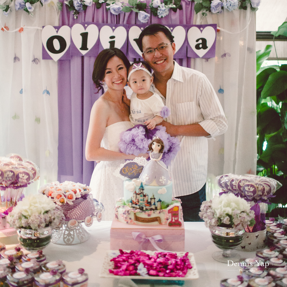 Olivia Baby 1 Year Old Birthday Party Alicia By Dennis Yap Photography 8
