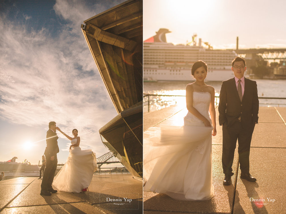 richard shwu sian sydney opera house pre wedding sunset pigeons dennis yap photography-17.jpg