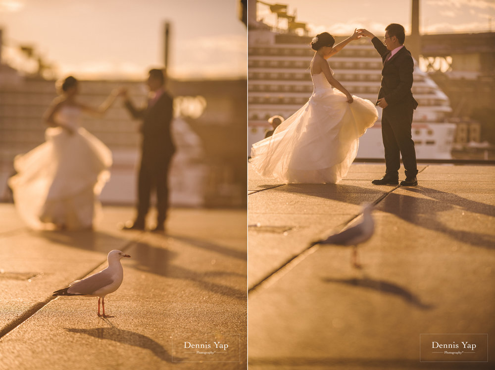 richard shwu sian sydney opera house pre wedding sunset pigeons dennis yap photography-20.jpg