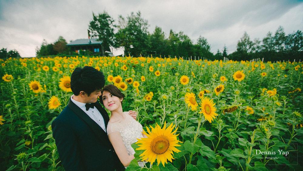 ka wing yen yen prewedding hokkaido japan sunflower field beloved natural candid dennis yap photography-28.jpg