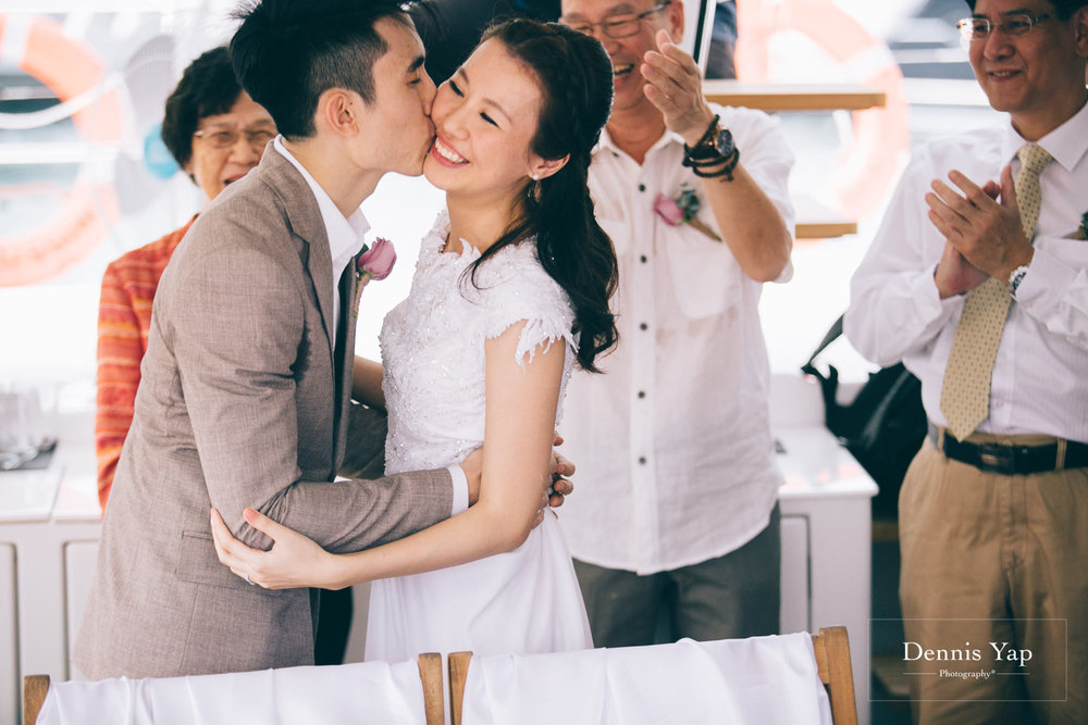 danny sherine wedding reception registration of marriage yacht fun beloved sea dennis yap photography malaysia top wedding photographer-19.jpg