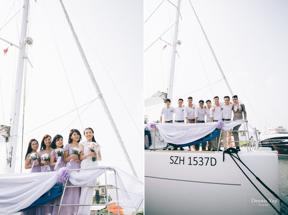 danny sherine wedding reception registration of marriage yacht fun beloved sea dennis yap photography malaysia top wedding photographer-23.jpg