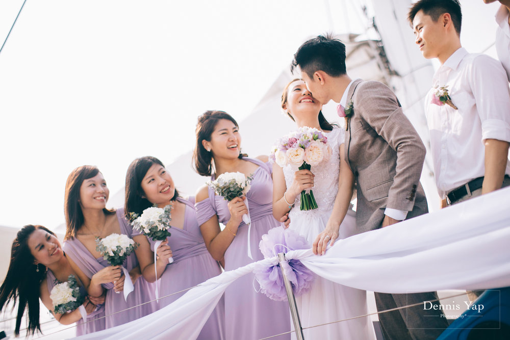 danny sherine wedding reception registration of marriage yacht fun beloved sea dennis yap photography malaysia top wedding photographer-24.jpg