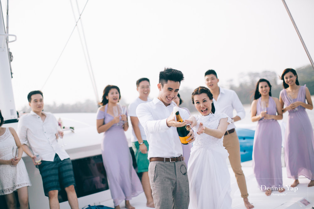 danny sherine wedding reception registration of marriage yacht fun beloved sea dennis yap photography malaysia top wedding photographer-31.jpg