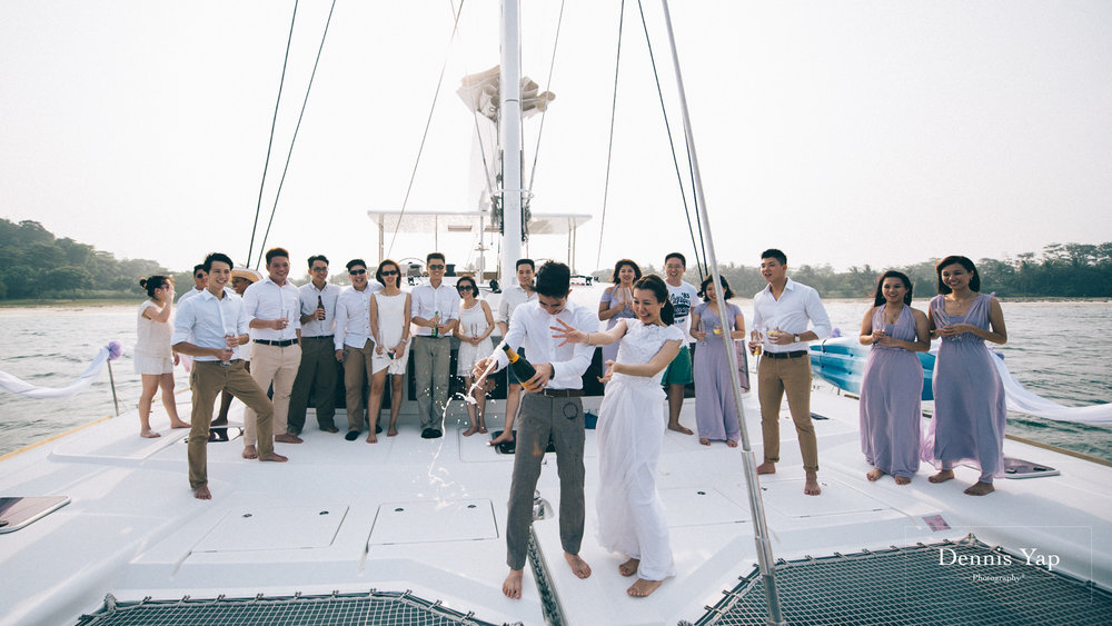 danny sherine wedding reception registration of marriage yacht fun beloved sea dennis yap photography malaysia top wedding photographer-32.jpg