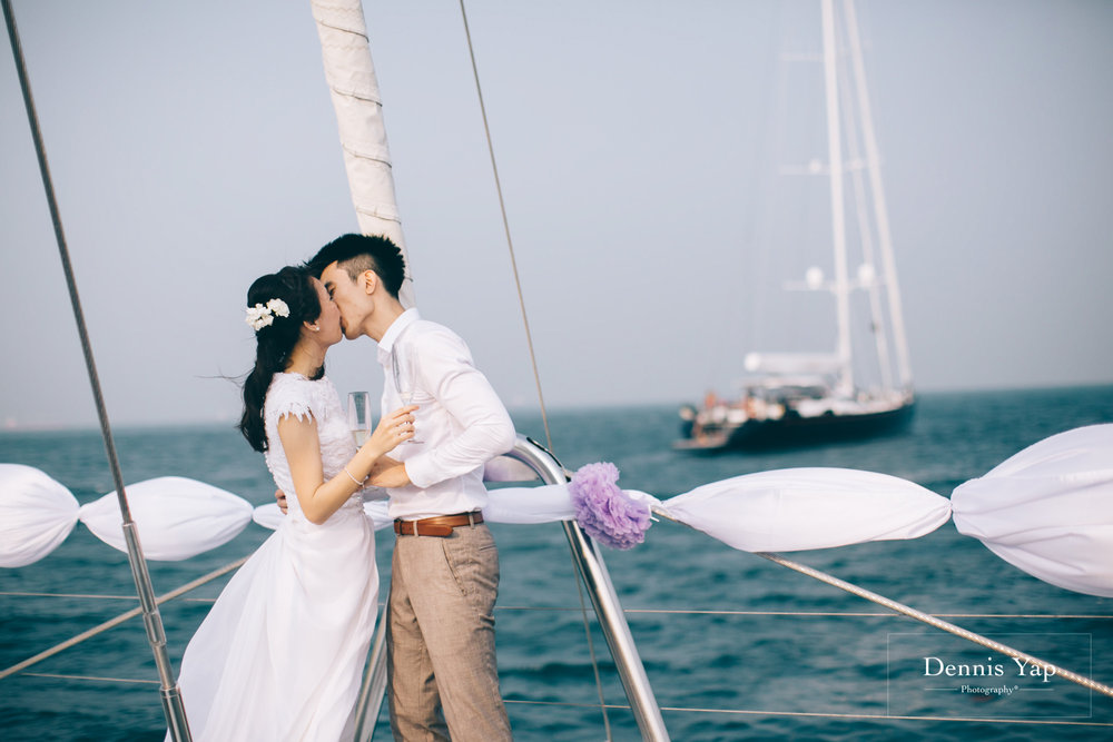 danny sherine wedding reception registration of marriage yacht fun beloved sea dennis yap photography malaysia top wedding photographer-35.jpg