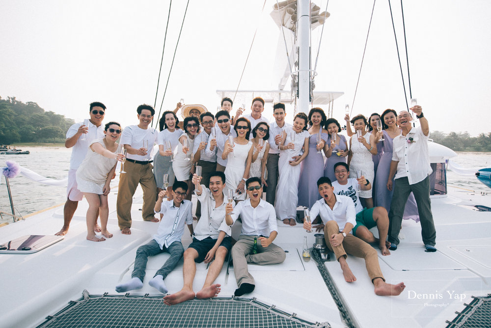 danny sherine wedding reception registration of marriage yacht fun beloved sea dennis yap photography malaysia top wedding photographer-34.jpg