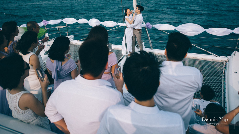 danny sherine wedding reception registration of marriage yacht fun beloved sea dennis yap photography malaysia top wedding photographer-36.jpg