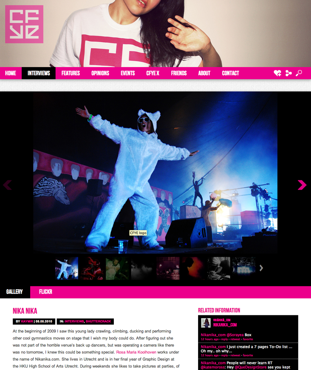 CFYE / Blog