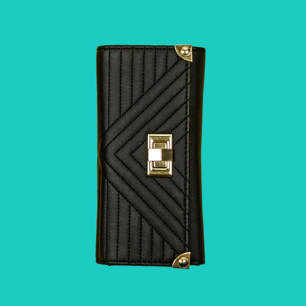Black & GoldPurse - New Look £9.99