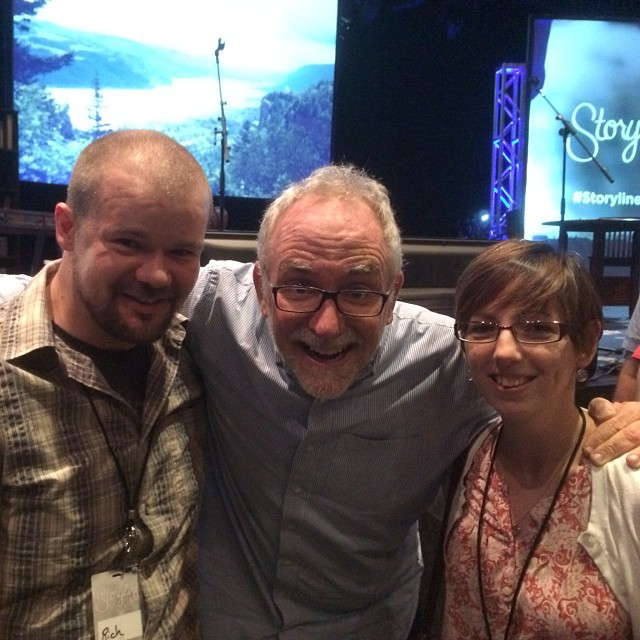 Meeting Bob Goff at the Storyline Conference.