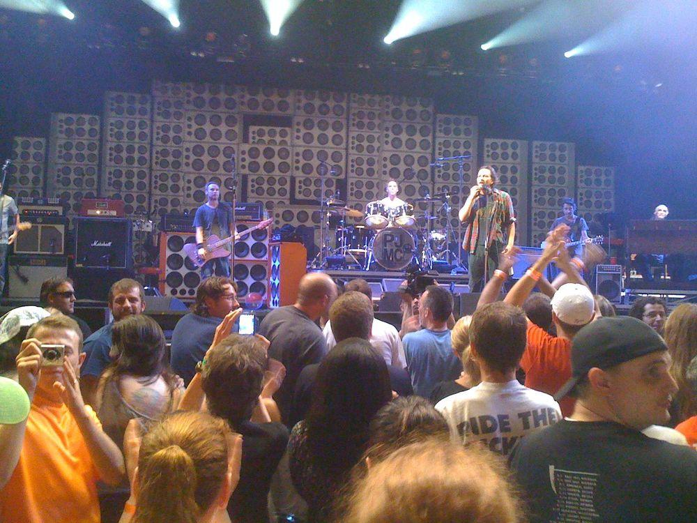 Pearl Jam at PJ20 Anniversary Weekend    Alpine Valley, 9-3-11