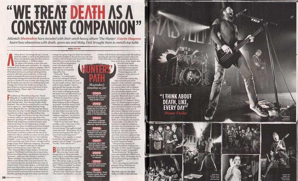 Mastodon / NME