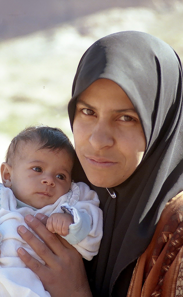 Bedouin Woman and Baby.jpg