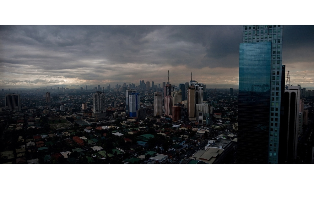 Manila, Makati, from on high