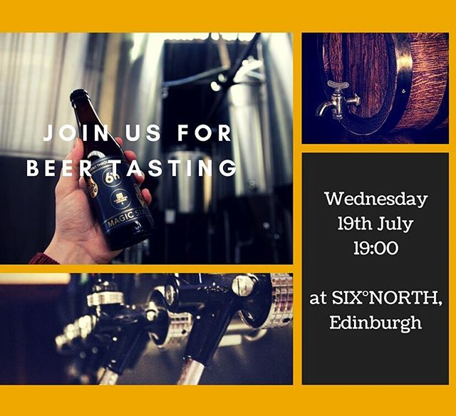We are calling all beer lovers, this Wednesday join us for beer tastong at Six Degrees North and and find out more about Belgian brewery style. Registration link in bio #slowfoodedinburgh #beer #tasting #events #edinburgh #belgianbeer #brewery #foodanddrinks #scotland