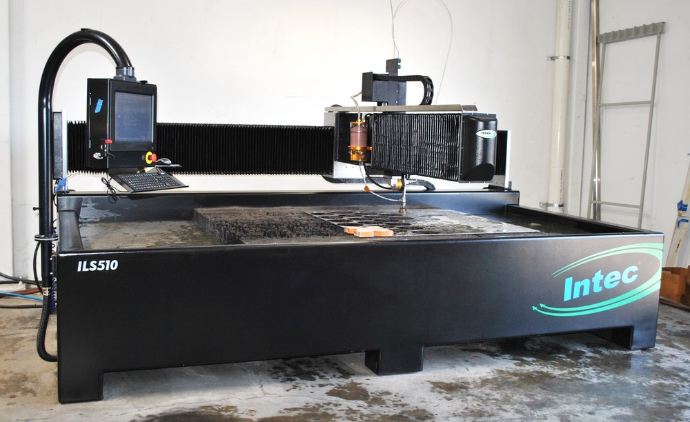 Techni 5' x 12' Waterjet table