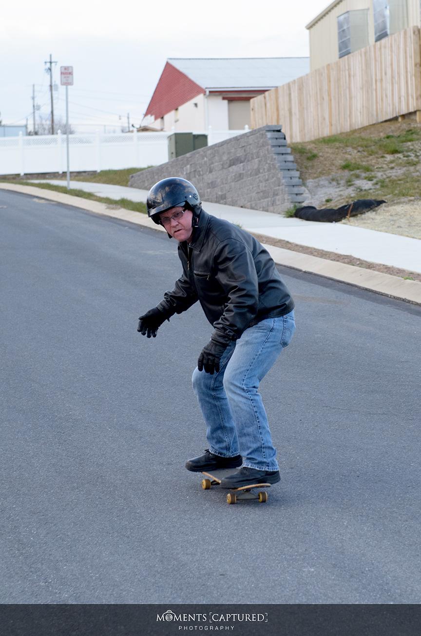 Mike Skateboarding