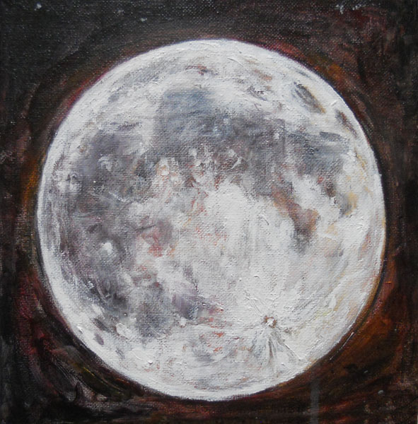 Full Moon (Acrylic)