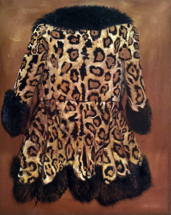 Leopardskin Back