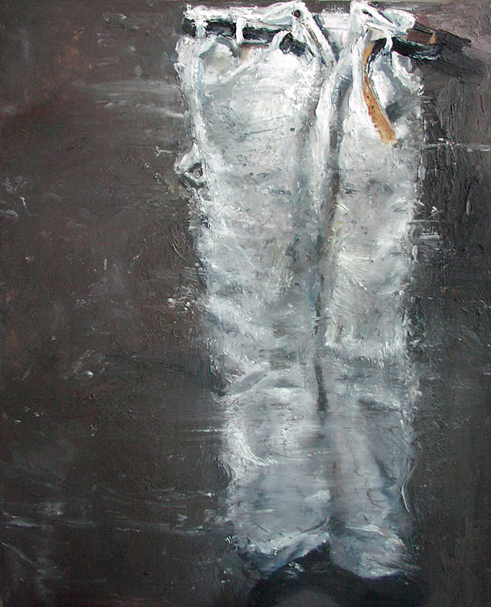 Painter's Pants: Self Portrait