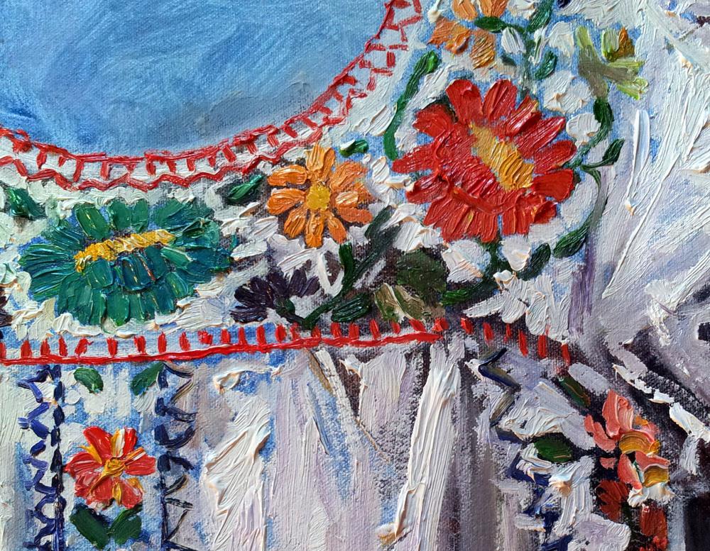 Sun Dress detail