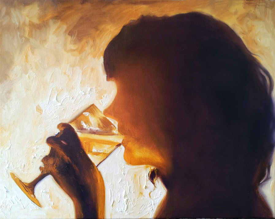 Melissa Drinking