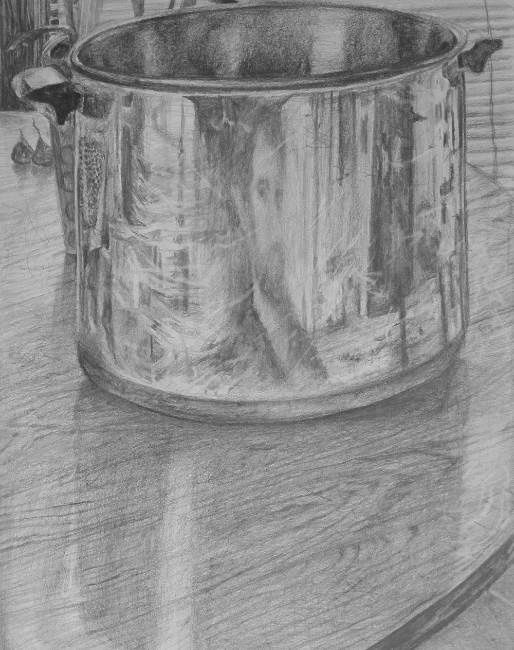 Soup Kettle Self Portrait