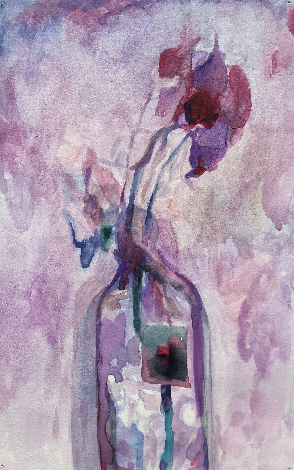 Rose in a Vase 1