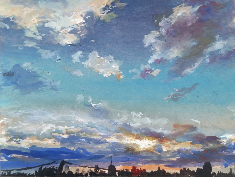 Sunset Over Milwaukee 2