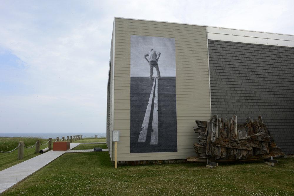 «Mémoires insulaires», résidence artistique « faire avec» Centre Admare, Îles-de-la-Madeleine, Canada, 2013