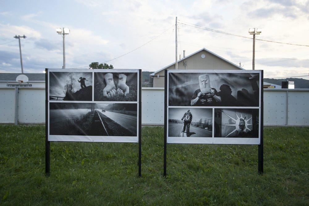 « Gesgapegiag» , projet 132, Rencontres internationales de la photographie en Gaspésie, 2014