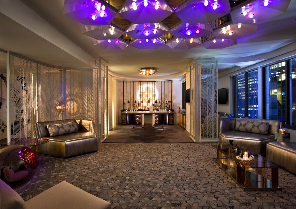 Interior Designer: Starwood Hotels and Resorts & W Hotel - Times Square E-WOW Suite | Lighting Workshop