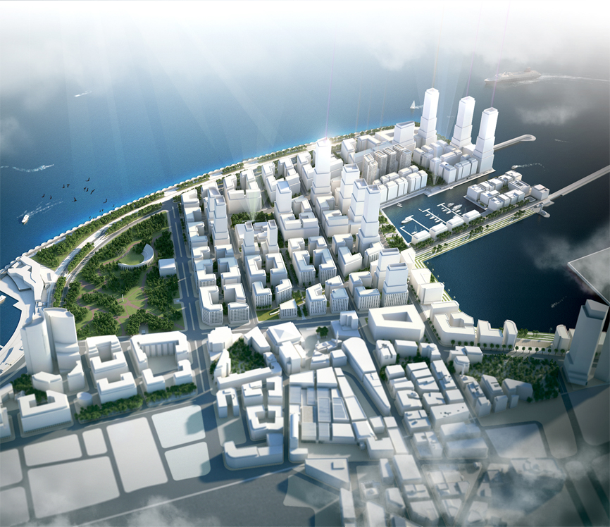 Beirut, New Waterfront District