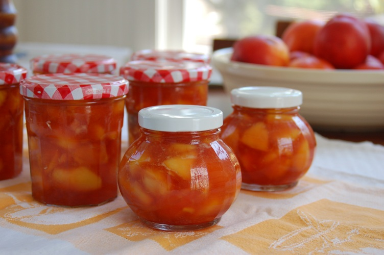 Darina's Nectarine Jam. Photo by Melissa A. Trainer