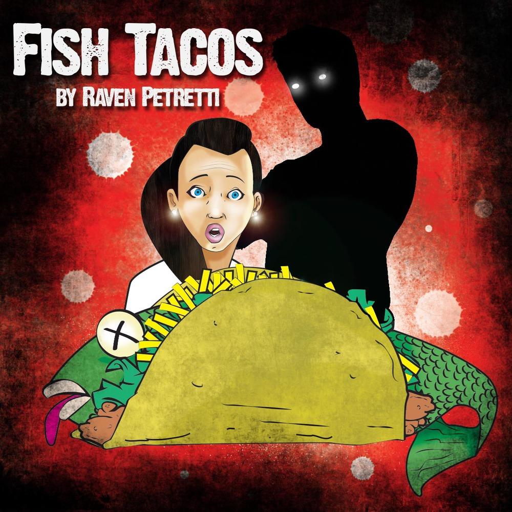 1 girl, 1 boy, fish tacos.