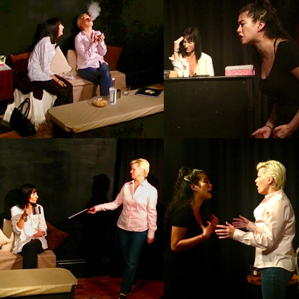 GERRY GLENNON as Susie, JENNIFER PIERRO as Beth & ERIKA YESENIA as Julie