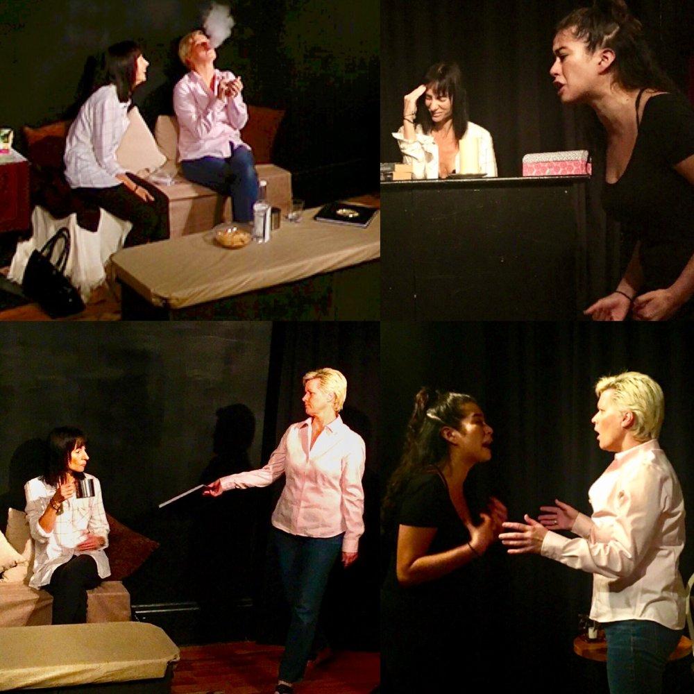 GERRY GLENNON as Susie, JENNIFER PIERRO as Beth & ERIKA YESENIA as Julie