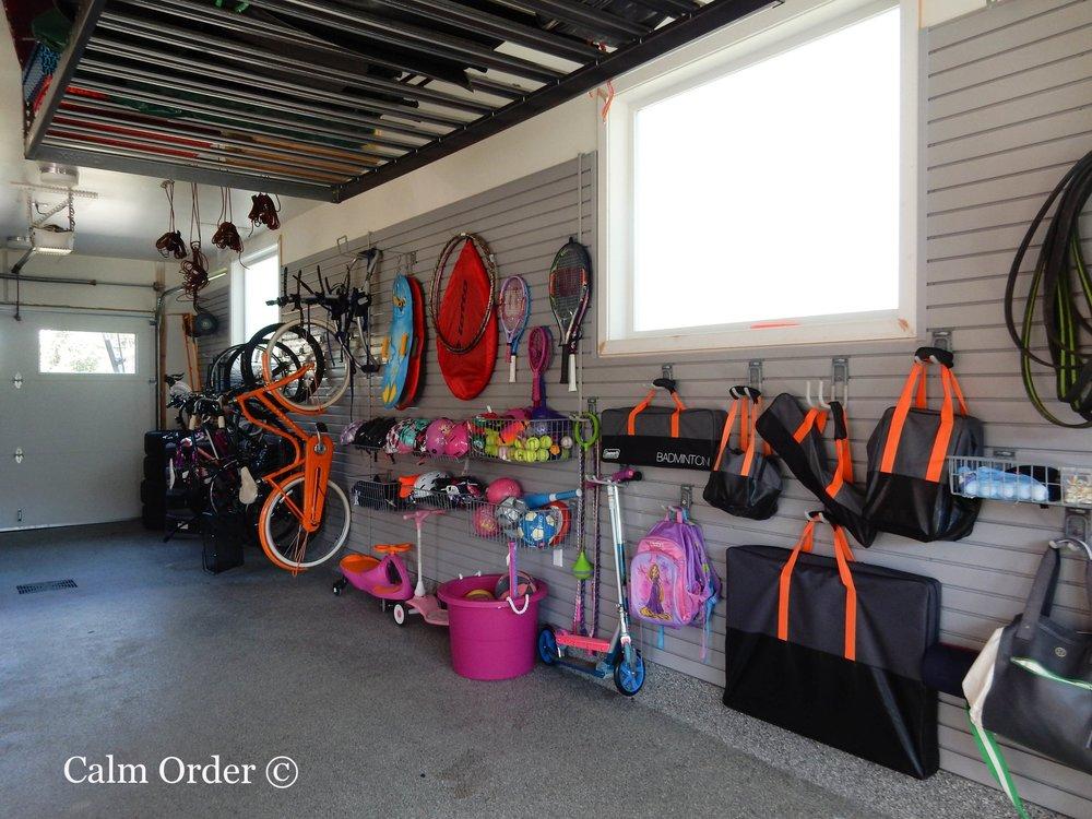 Calm Order - Garage Organizing