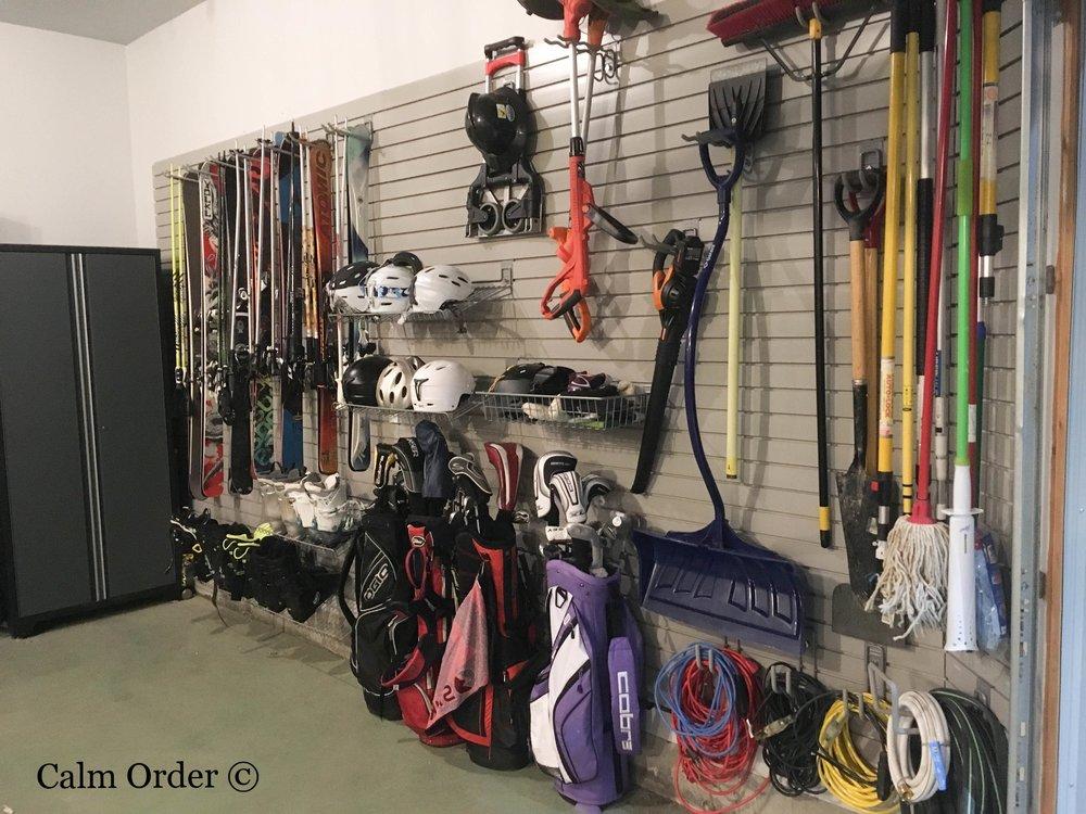 Calm Order - Sports Wall Organization