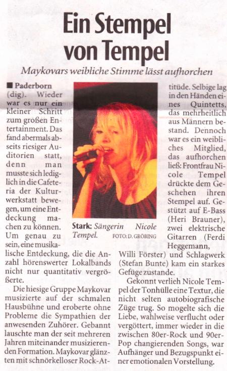 Quelle: Neue Westfälische vom 05.02.2013