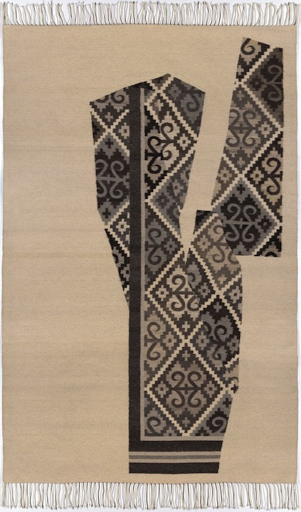Zapotec Cut-outs V, 2012