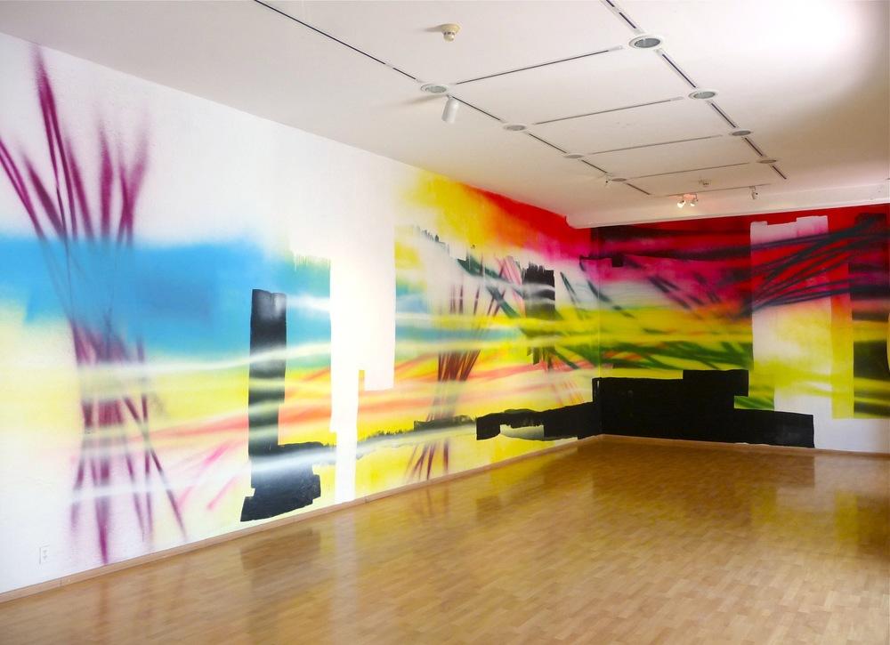 Muro en el Museo de los Pintores Oaxaqueños, 2011