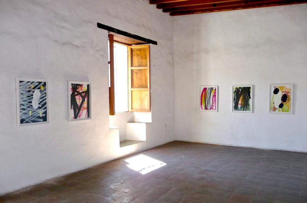 Exposición en el Instituto de Artes Gráficas de Oaxaca, 2011