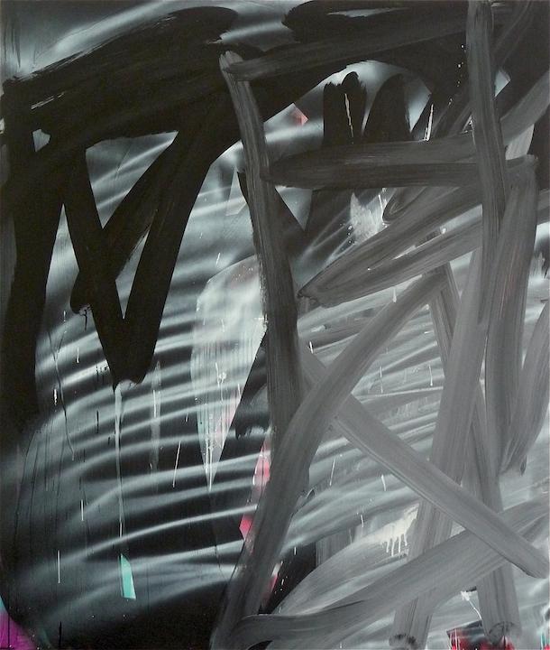 Paisaje (Eternidad),  2011. Acrílico sobre tela, 200 x 170 cm.