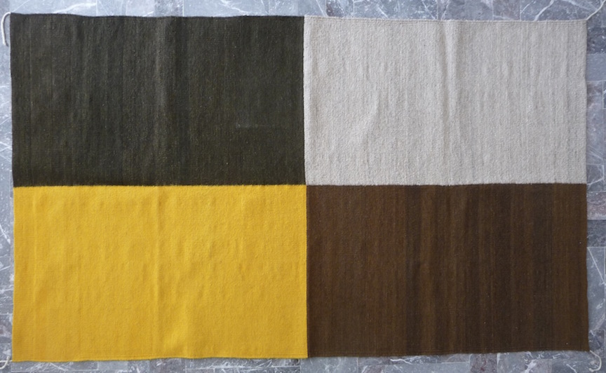Four-color Rug (105)